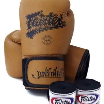 Winning Velcro Training Boxing Gloves 10oz (Black) | Fight