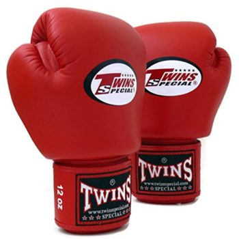 Twins-Specials-Boxing-Gloves-BGVL3-Red-Size-8-10-12-14-16-oz-Universal-All-Purposes-Training-Sparring-Bag-Gloves-for-Muay-Thai-Kick-Boxing-MMA-K1-Red-16-oz-0