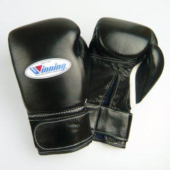 Winning-Velcro-Training-Boxing-Gloves-10oz-Black-0